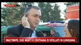 Maltempo in Lunigina, parla Enrico Rossi