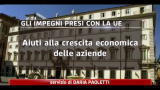 Crisi, gli impegni italiani