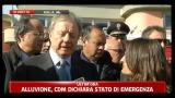 Matteoli, CDM dichiara stato d'emergenza