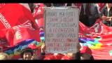 Roma, CGIL in piazza con i pensionati: licenziare il governo