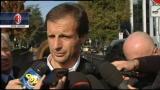 31/10/2011 - Malore Cassano, le parole di Allegri e Galliani