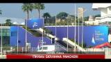G20, vertice Draghi-Sarkozy-Merkel su Grecia a Cannes