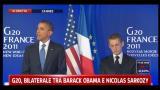 G20,Obama si congratula con Sarkozy per la nascita di Giulia