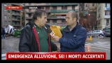 Alluvione Genova, un testimone