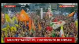 2-Manifestazione Pd, intervento di Bersani