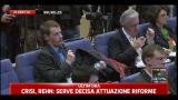 Crisi Italia, Rehn: chiarimenti su lettera impegni