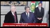 Consultazioni, Napolitano ha ricevuto l'Union Valdotaine