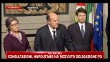 Consultazioni, Bersani: sì a un governo di emergenza