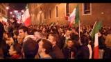 I sostenitori del PDL sotto Palazzo Grazioli