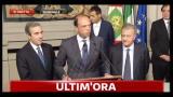 Consultazioni, Pdl: nostra disponibilità per governo Monti