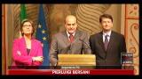 """15/11/2011 - Governo Monti, Bersani: """"la pratica"""" è ben avviata"""