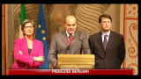 15/11/2011 - Consultazioni Monti: Bersani e Alfano