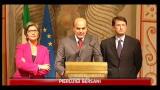 15/11/2011 - Consultazioni Monti: Bersani e Alfano