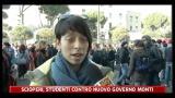 Sciopero, studenti contro nuovo governo Monti