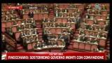 Fiducia Governo Monti, interviene Maurizio Gasparri