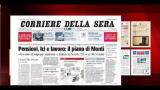 I giornali di venerdì 18 novembre 2011