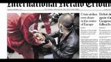 I giornali di martedi 22 Novembre
