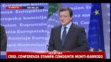 Barroso, un piacere aver ricevuto il premier Monti