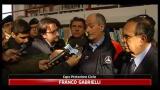 Frane sud,le reazioni di Gabrielli e del sindaco di Saponara