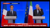 Merkel, Monti, Sarkozy (24.11.2011)