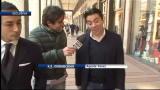 25/11/2011 - Il procuratore di Tevez, Kia Joorabchian, in giro per Milano