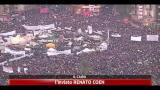 Venerdì di protesta in Egitto, El baradei in Piazza Tahrir