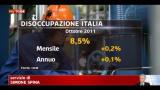 30/11/2011 - Istat, a novembre inflazione +3,3% annuo