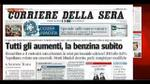 I giornali di mercoled 7 dicembre 2011