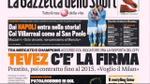 I giornali di mercoledì 7 dicembre 2011