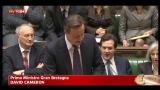 Cameron: a Bruxelles ho protetto interessi nazionali