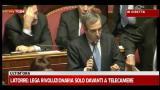 22/12/2011 - Gasparri: non cambiate condizioni sostegno a governo