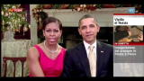 24/12/2011 - USA, gli auguri di Natale di Barack e Michelle Obama