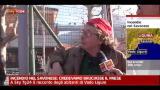 26/12/2011 - Incendio nel savonese: una notte d'inferno