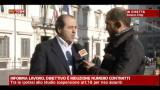 Riforma lavoro, intervista ad Antonio Di Pietro