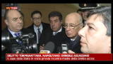 09/01/2012 - Delitto Torpignattara, Napolitano: orribile assassinio