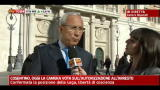 Cosentino, votazioni alla Camera, parla  Osvaldo Napoli