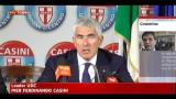 Casini, su Cosentino grave errore politico