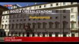 Liberalizzazioni, bozza in 44 articoli per più settori