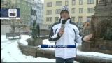 Olimpiadi giovanili di Innsbruck sotto la neve