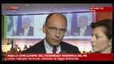 Assemblea Nazionale PD: Enrico Letta ai microfoni  Sky TG24