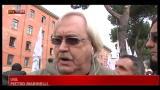23/01/2012 - Sciopero taxi, intervento Marinelli, UGL
