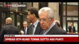 24/01/2012 - Bruxelles, Monti: lavori da finalizzare, bene sull'Italia