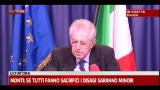 """Monti: """"Protesta tir? La legalità va rispettata"""""""