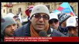Palermo, continua la protesta dei pescatori
