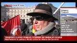 Trasporti e uffici pubblici, sciopero dei sindacati di base