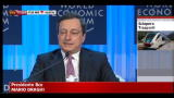 World Economic Forum, intervento Draghi