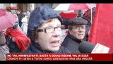 No TAV, manifestanti: basta a devastazione Val di Susa