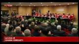 Anno giudiziario a Roma, atmosfera serena