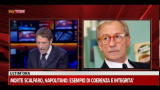 29/01/2012 - Morte Scalfaro, a Sky TG24 intervento Feltri