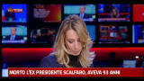 29/01/2012 - Scalfaro, a Sky TG24 intervento Rosy Bindi